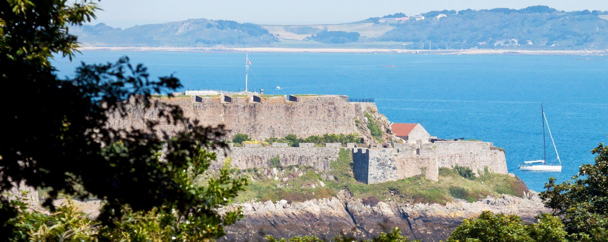 Guernsey st peter port castle cornet