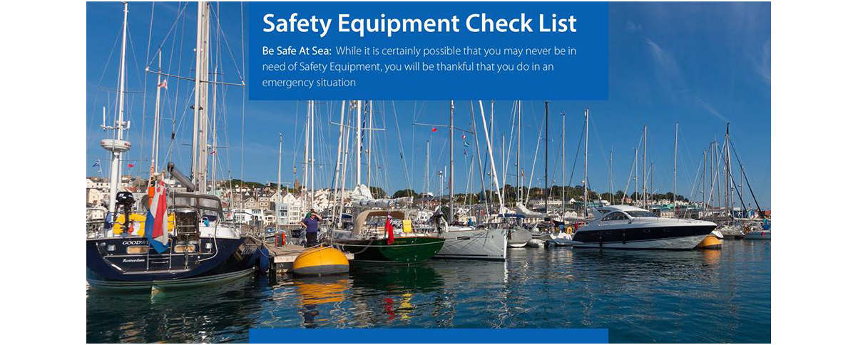 Safety Equipment Check List - Guernsey Harbours