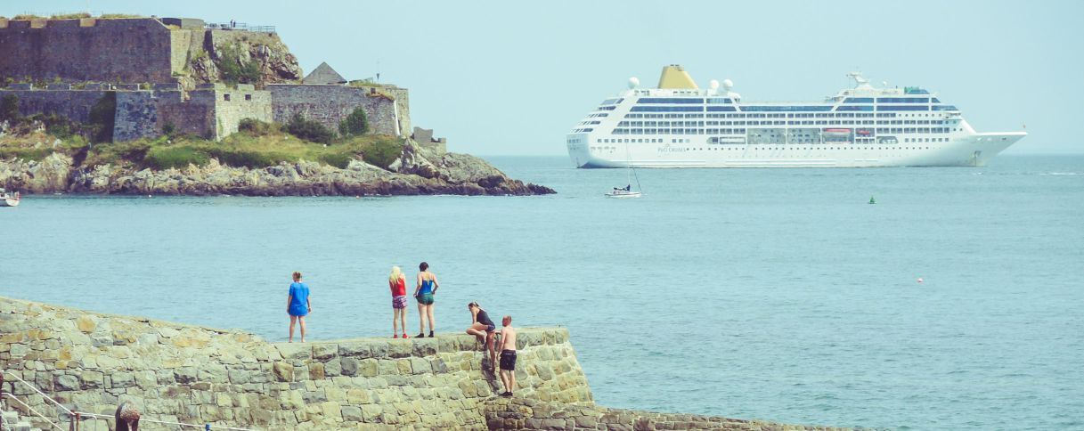 Adonia Guernsey Harbours - Adonia cruise ship